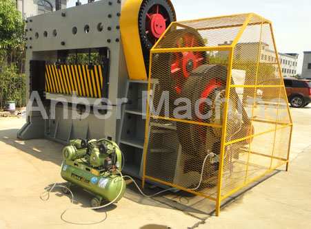 Heavy type expanded metal mesh machine