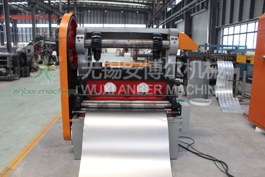 Steel metal expanding machine